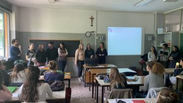 Dissemination activity in a high school (in collaboration with FUV) – Milan, May 4, 2019